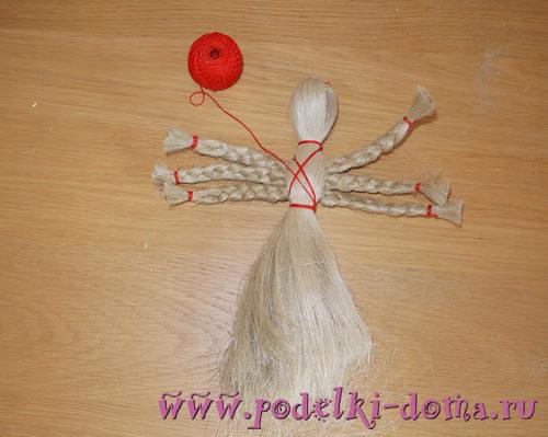 традиционная кукла Филипповка