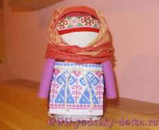 кукла крупеничка-зерновушка