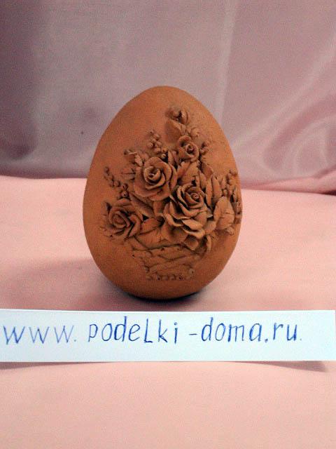 Яйцо из глины