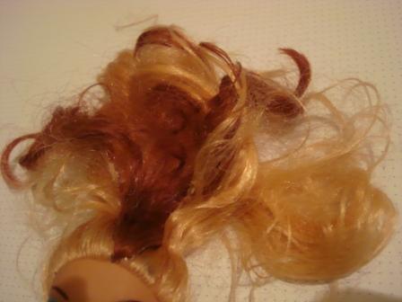 Как выпрямить кукле волосы домашними условиями