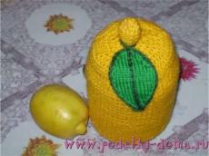 vyazany termos limon