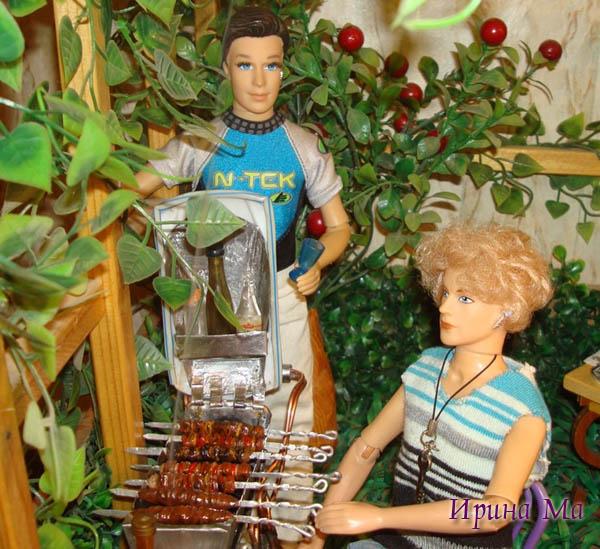 шашлык для кукол от Ирины Ма