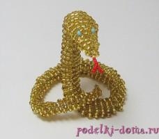 2 окт 2012 3 мин... Метки: бисероплетение украшения из бисера мастер-класс браслет из бисера змея змейка из.