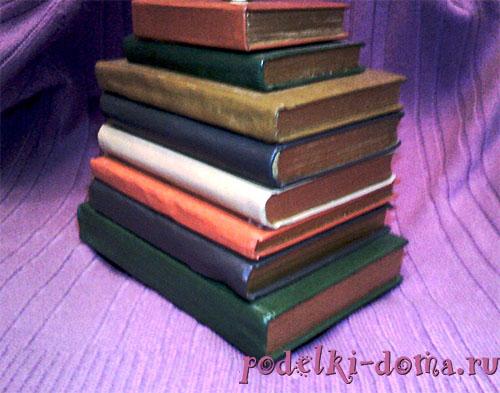 как сделать ночник из книг