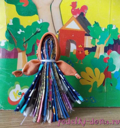 народная тряпичная кукла Северная берегиня