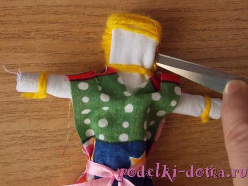 Тряпичная кукла Ванюша