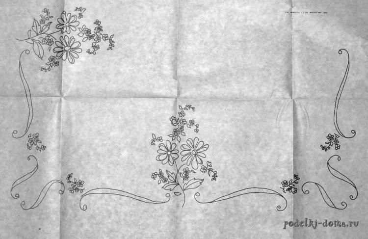 vyshivka cvety shema