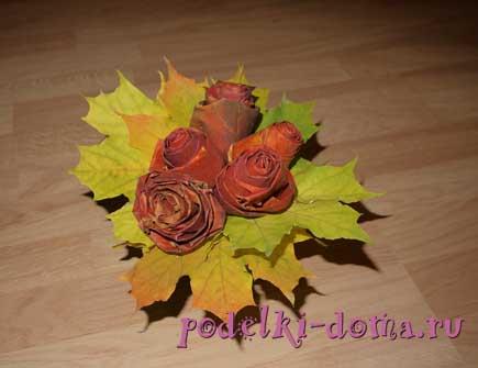 rozy iz listev