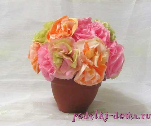 cvety iz salfetok