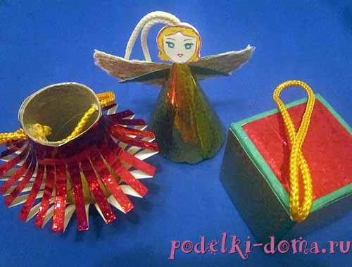 Игрушки из подручных материалов