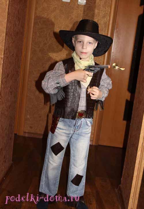 kostum cowboy