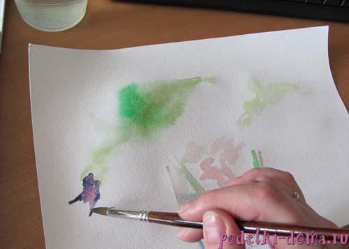 cvety akvarel6
