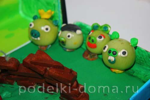 angry birds iz ovoschey3