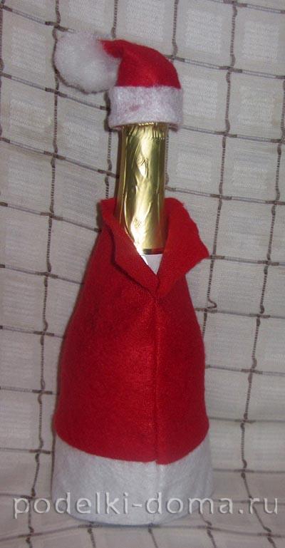 chehol dlya shampanskogo Ded Moroz9