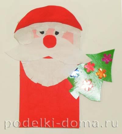 "Открытка ""Дед Мороз"""