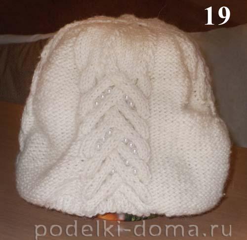Подкладка для шапки из флиса