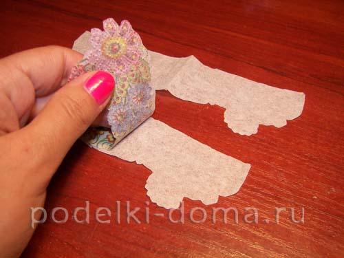 dekupazh butylki ukrainskiy domik13