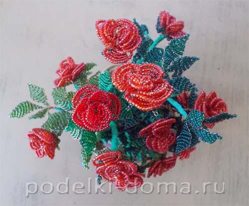 rozy iz bisera