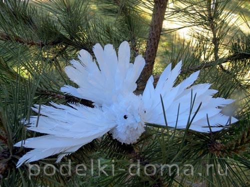 golub iz plastikovyh butylok1