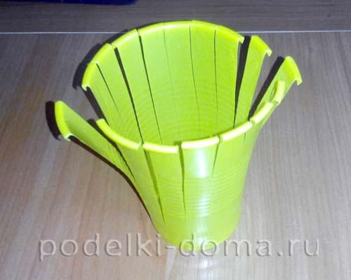 pashalnaya korzinka iz plastik  stakanchika1