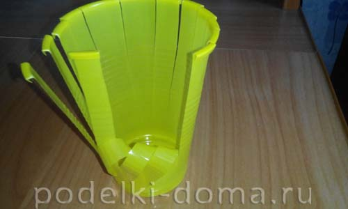 pashalnaya korzinka iz plastik  stakanchika2