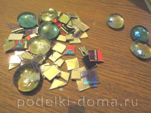 svetilnik iz CD-diskov25
