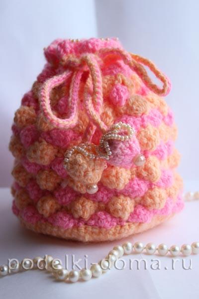 Сумочка для девочки (вязание