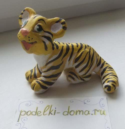dymkovskaya igrushka tigr