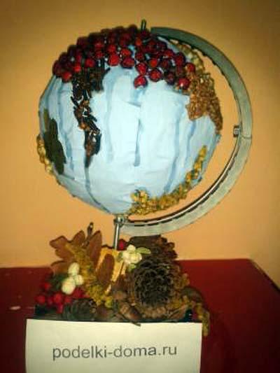 globus prirodny material2