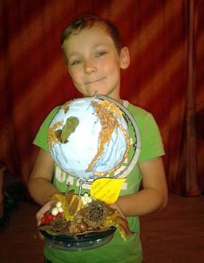 globus prirodny material3