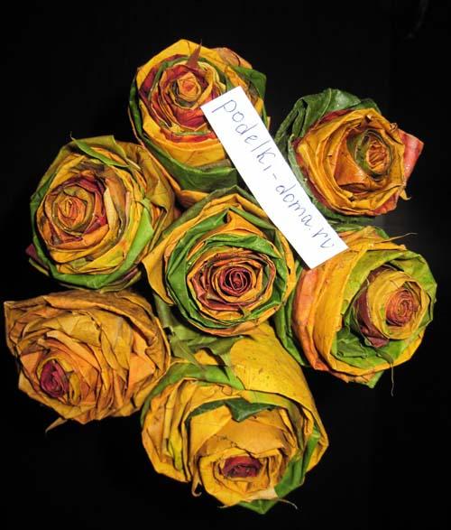 rozy iz listyev svoimi rukami8