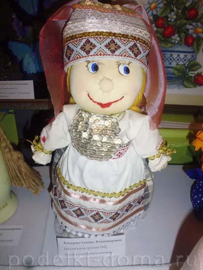 Кукла в национальном костюме Кочурова Г.В.