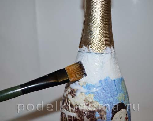 dekupazh butylok shampanskogo tualetnoy bumagoy4