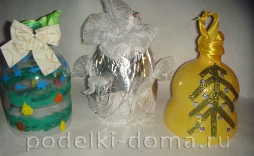 elochnye igrushki iz plastikovyh butylok 11