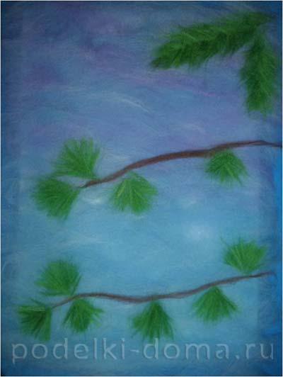 kartina snegiri sherstyanaya akvarel4