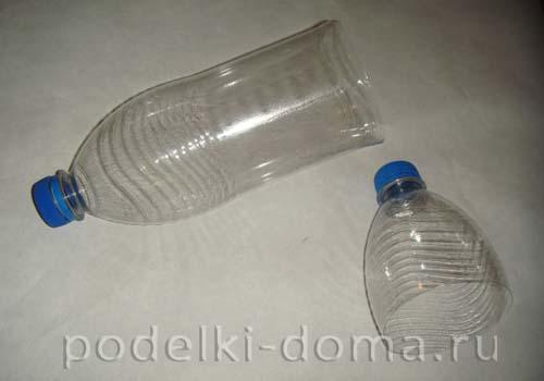 novogodnyaya podelka iz plastikovoy butylki11
