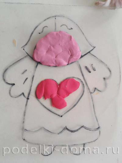 angel plastilin applikaciya5