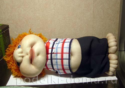 """Кукла из капрона """"Босс"""" (мастер-класс)"""