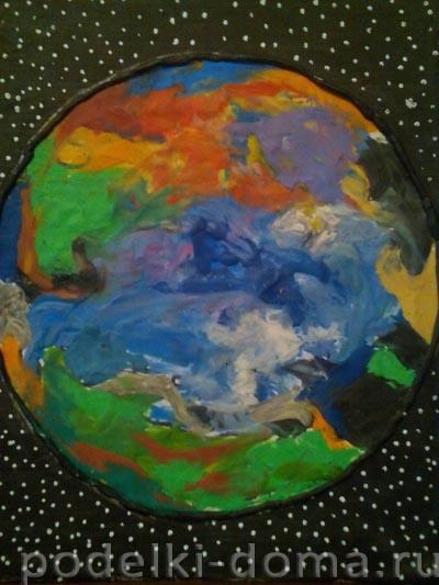 6 planeta zemlya plastilin