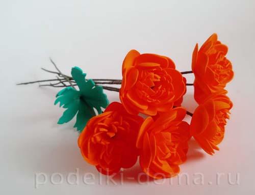 cvety ogonki iz foamirana 14
