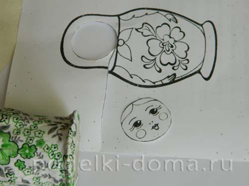 matreshka podelka iz podruchnogo materiala0