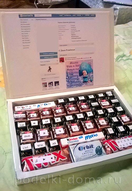 Страна мастеров новогодние поделки c конфетами