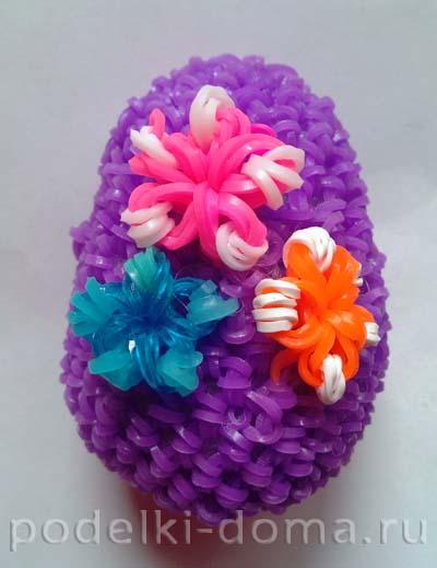 яйцо из резинок9