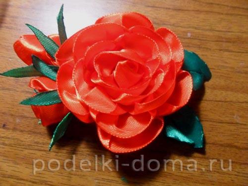 zakolka roza iz atlasnoy lenty29