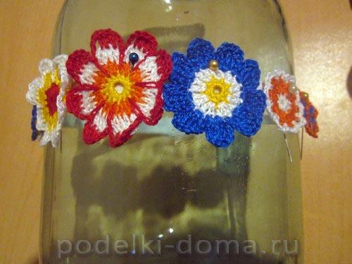 povyazka cvety kryuchkom24