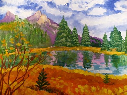 Осенний пейзаж АА