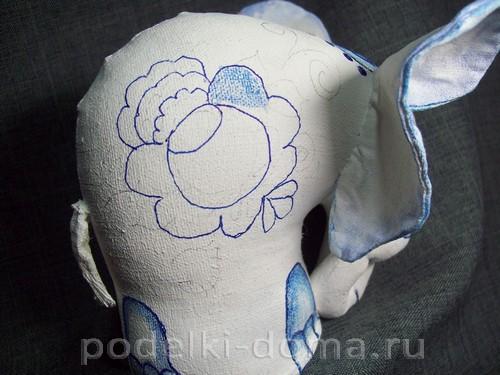 myagkaya igrushka slon pod gzhel25