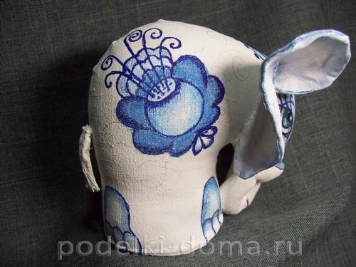 myagkaya igrushka slon pod gzhel26