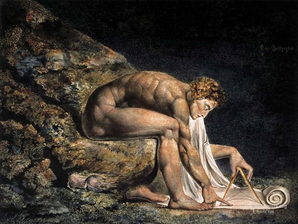 Уильям Блейк. Исаак Ньютон. 1795 – около 1805.