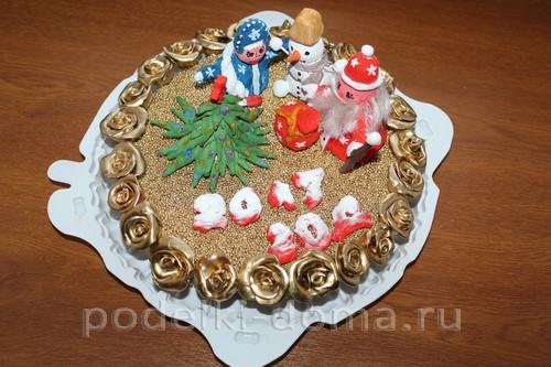 novoodniy tort podelka solenoe testo02